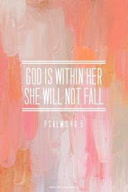 she will not fail